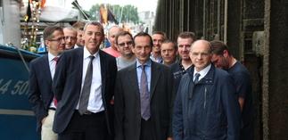 Visite de Jérome BEDIER - Directeur Général du Groupe Carrefour