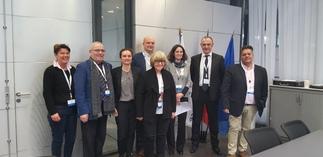 Rencontre avec Madame Ulrike RODUST, députée européenne allemande